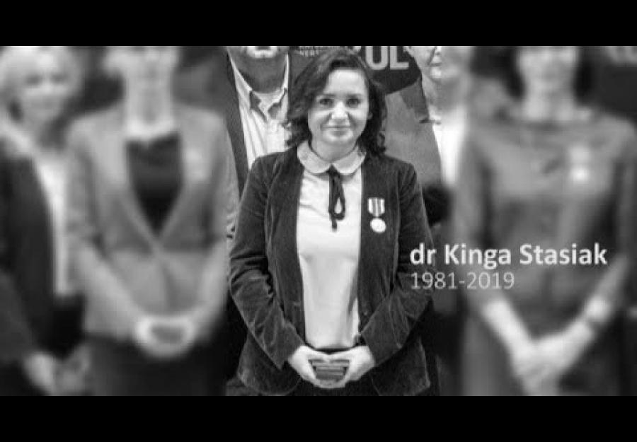 Zmarła Pani Dr Kinga Stasiak